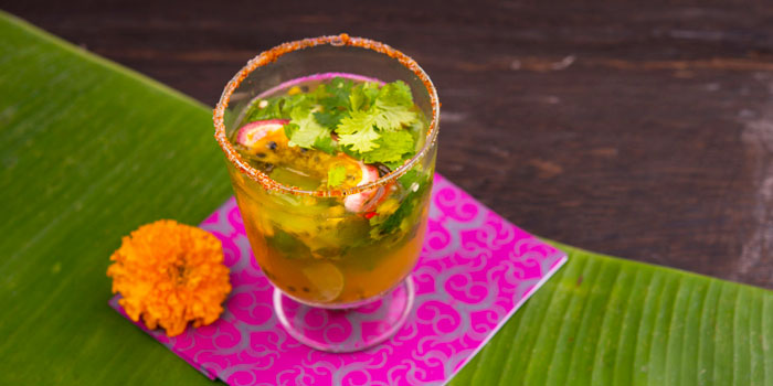 Passion Fruit Drink from Err Urban Rustic Thai, Tatian