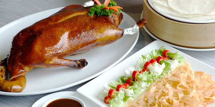 Peking Duck from Silver Waves at Chatrium Hotel Riverside, Bangkok