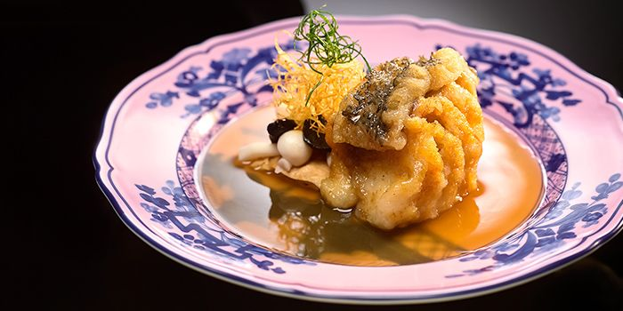 Braised Estuary Grouper from Summer Pavilion in The Ritz-Carlton, Millenia Singapore in City Hall, Singapore