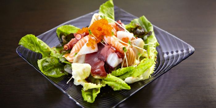 Salad from Yuutaro on Sukhumvit Soi 51, Bangkok