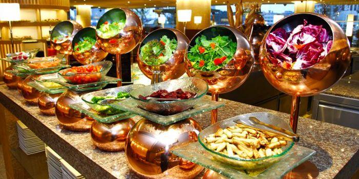 Salad Bar from Next 2 Cafe at Shangri-La Hotel, Bangkok