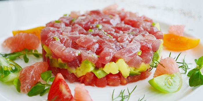 Salmon Tartar from Kathleen