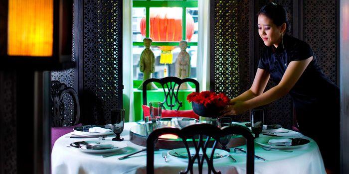 Table Set from The China House at Mandarin Oriental, Bangkok