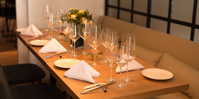 Dining Table of terra in Tanjong Pagar, Singapore