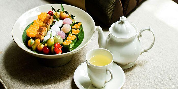 Thai Tea from Erawan Tea Room Restaurant at Grand Hyatt Erawan, Bangkok