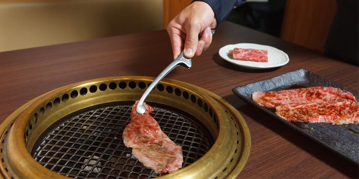 Fresh Grilled Beef from BEEF YAKINIKU DINING YAKINIQUEST in Boat Quay, Singapore