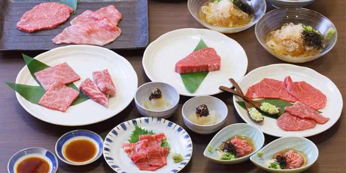 Beef Omakase Course from BEEF YAKINIKU DINING YAKINIQUEST in Boat Quay, Singapore