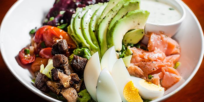 Cobb Salad from Boxing Cat Brewery (Yong Fu) in Xuhui, Shanghai