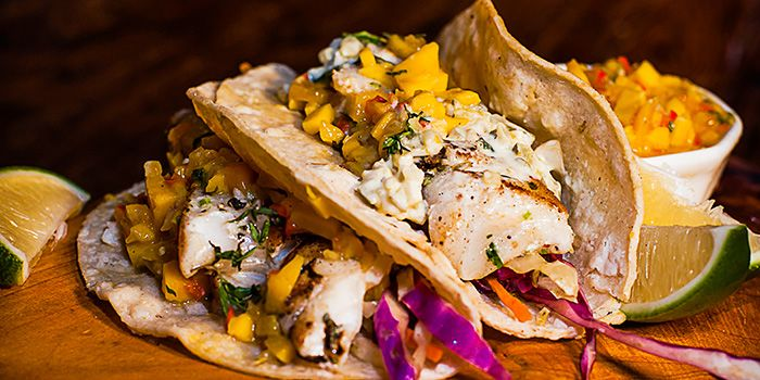 Fish Tacos from Boxing Cat Brewery (Hong Qiao) in Minhang, Shanghai