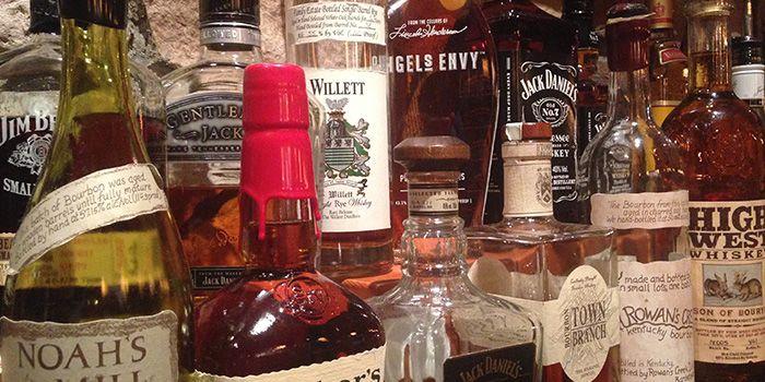 Bourbons from Shanghai Slim