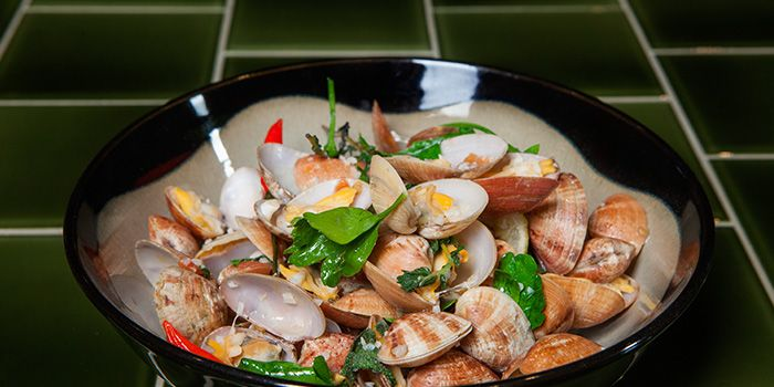 Clams from Dehesa in Boat Quay, Singapore