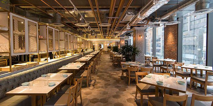 Dining Area of Yum Cha, Central, Hong Kong