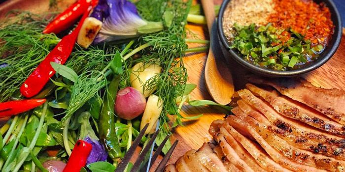 Grilled Pork from The Never Ending Summer in Charoen Nakorn Road, Bangkok