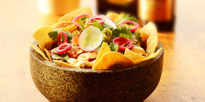 Guacamole and Chips from El Luchador (Xintiandi) in Huangpu, Shanghai