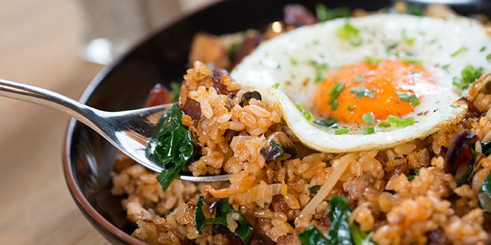 Kimchi Fried Rice from Al's Diner in Xuhui, Shanghai