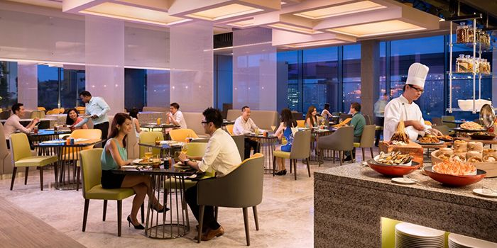 Dining Room of Makan@Jen in Orchard Road, Singapore