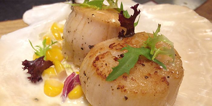 Scallops from Shanghai Slim