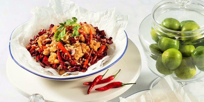 Spicy Chicken Dices, Yum Cha, Tsim Sha Tsui, Hong Kong