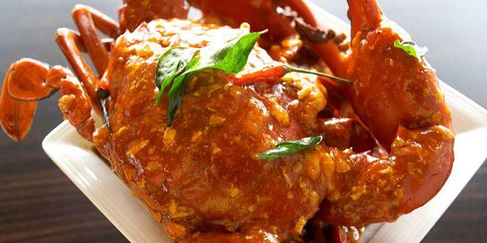 Chilli Crab from The Square Restaurant in Novotel Singapore Clarke Quay, in Clarke Quay, Singapore