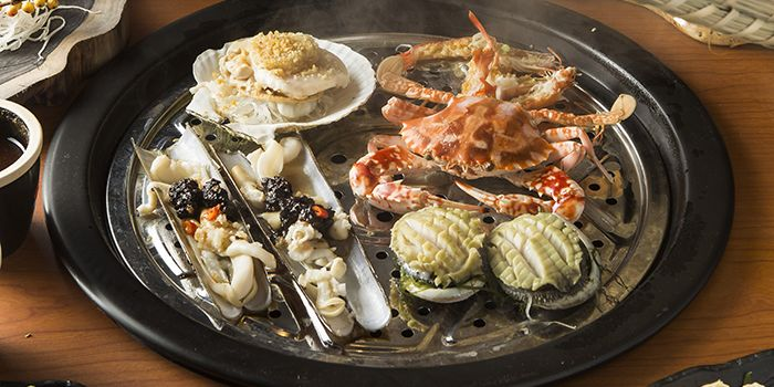 Steam Seafood, The Drunken Pot, Tsim Sha Tsui, Hong Kong