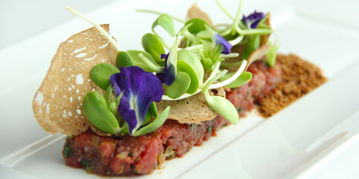 Tartare from Tables Grill Restaurant at Grand Hyatt Erawan, Bangkok