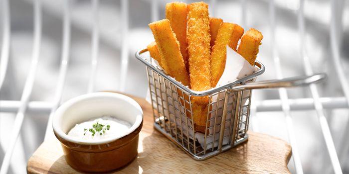 Truffle Polenta Fries  from Aqua Luna in Park Hotel Alexandra at Queenstown, Singapore