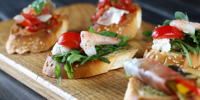 Bruschetta from Alla Torre (Chamtime Plaza) in Pudong, Shanghai