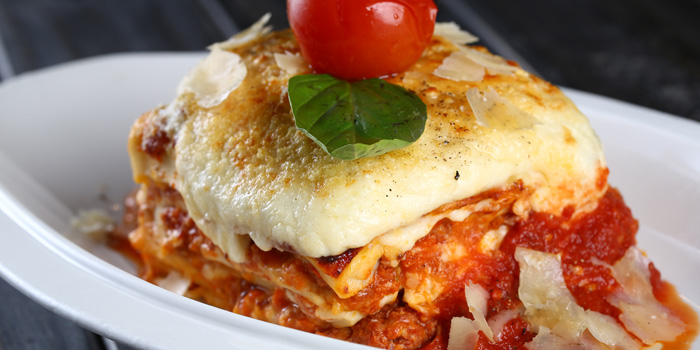 Lasagne from Alla Torre (Chamtime Plaza) in Pudong, Shanghai