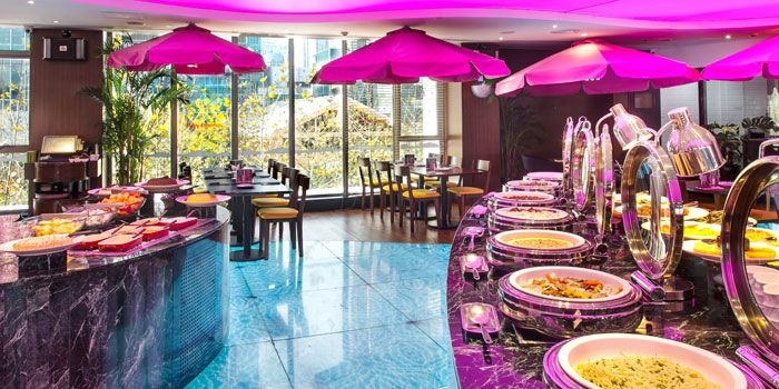 Buffet from Latina (Chamtime Plaza) in Pudong, Shanghai