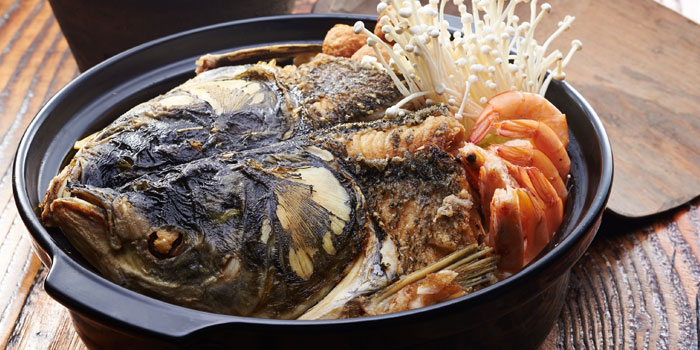 Curry Fish Head from The Village in Jing