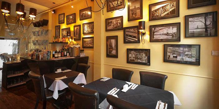 Interior of New York Style Steak Burger in Tianzifang, Shanghai