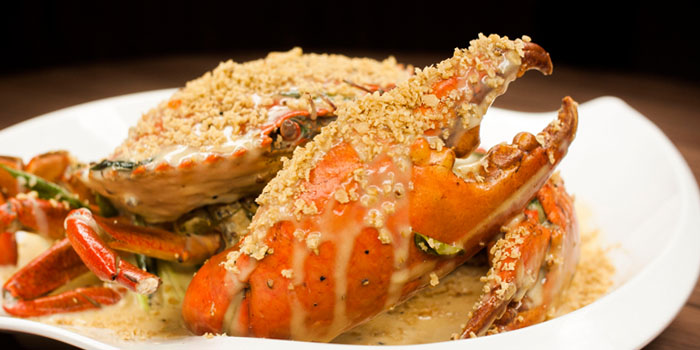 Cereal Crab from Legacy Seafood in Jurong East, Singapore