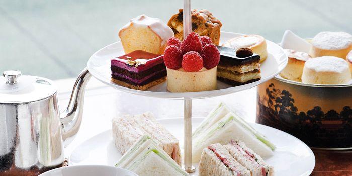 Afternoon Tea Set, Clipper Lounge, Central, Hong Kong