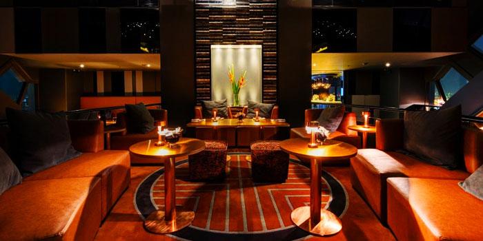 Dining Table from Vertigo TOO at Banyan Tree Bangkok in Sathorn, Bangkok