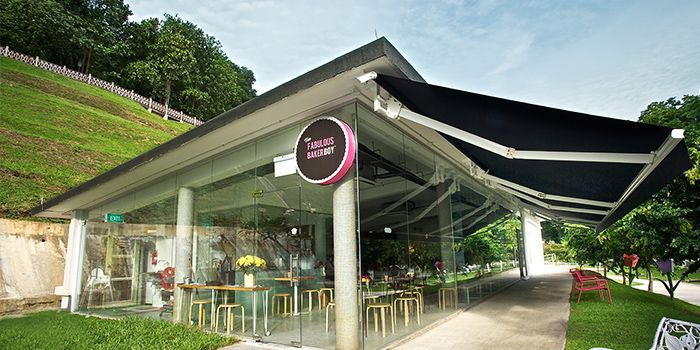 Exterior of The Fabulous Baker Boy in Clarke Quay, Singapore