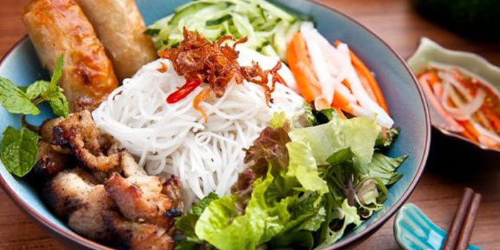 Cold Vermicelli from Cyclo in Jing