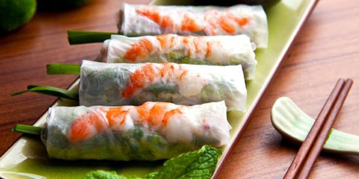 Vietnamese Spring Rolls from Cyclo in Jing