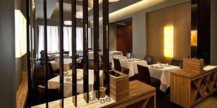 Interior of Garibaldi Italian Restaurant & Bar in Bugis, Singapore
