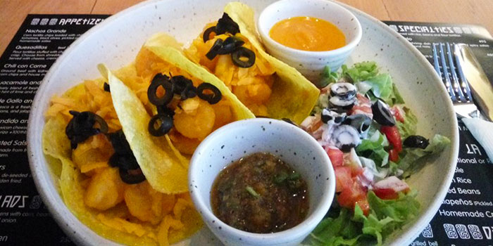 Habinaro Tacos from The Mexican - Cantina and Comedor at Rajah Hotel Complex Suhumvit Soi 2, Bangkok