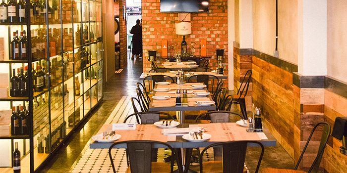 Interior of Ciao@ Italian Risto-Bar in Bugis, Singapore