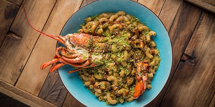 Lobster Mac and Cheese, Lily & Bloom, Central, Hong Kong