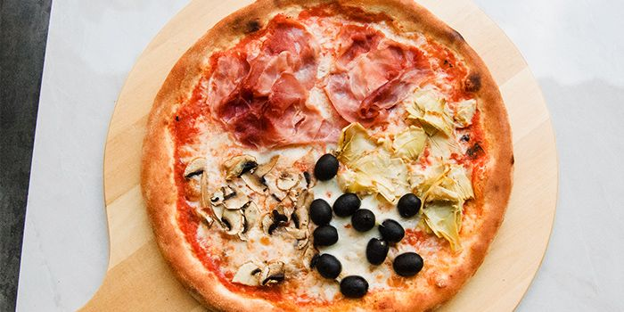 Pizza from Ciao@ Italian Risto-Bar in Bugis, Singapore