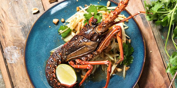 Rock Lobster Salad,  Lily & Bloom, Central, Hong Kong