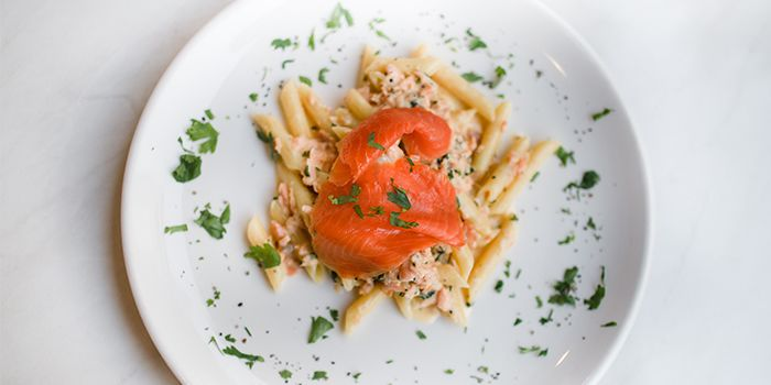 Salmon Pasta from Ciao@ Italian Risto-Bar in Bugis, Singapore