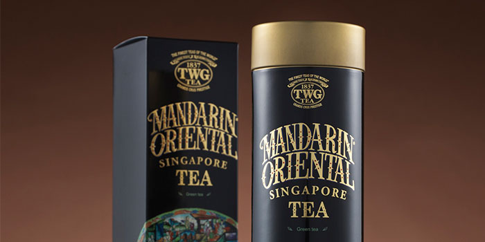 TWF Tea from Axis Bar & Lounge in Mandarin Oriental in City Hall, Singapore