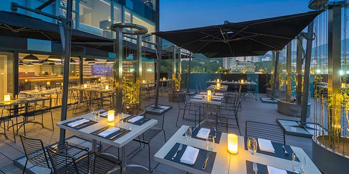 Terrace of Cirqle, Aberdeen, Hong Kong