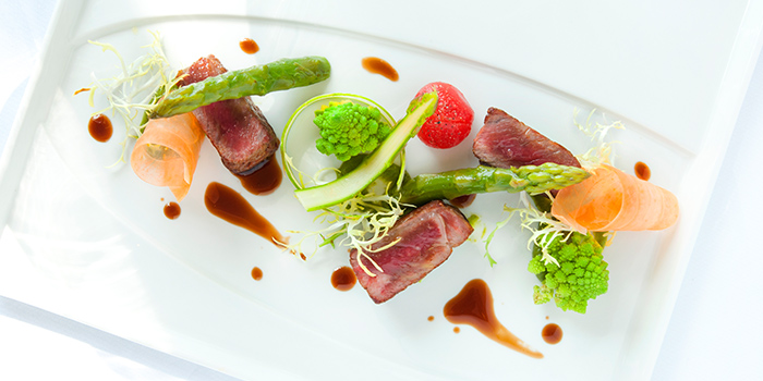 Veal Tenderloin with Foie Gras & Truffle Sauce from ilLido at the Cliff in Sentosa, Singapore
