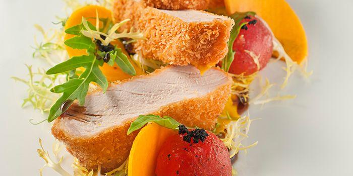 Kurobuta Pork Milanese from ilLido at the Cliff in Sentosa, Singapore