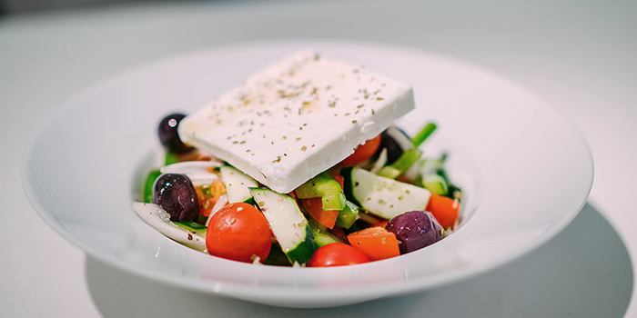 Salad from Alati Divine Greek Cuisine in Tanjong Pagar, Singapore