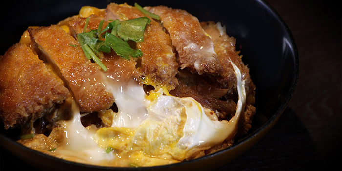 Pork and Egg Rice Bowl, AMAZAKE, Central, Hong Kong